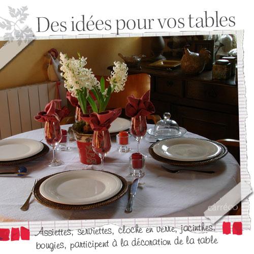 Un décor pour votre table