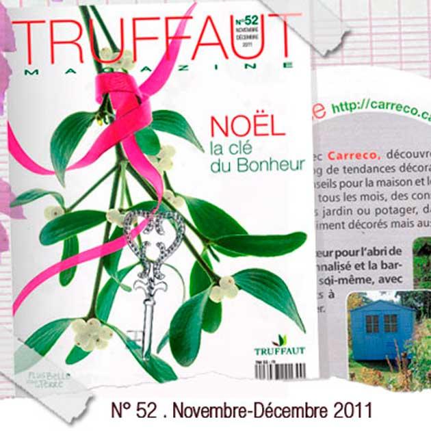 Un article sur Carreco dans le magazine Truffaut