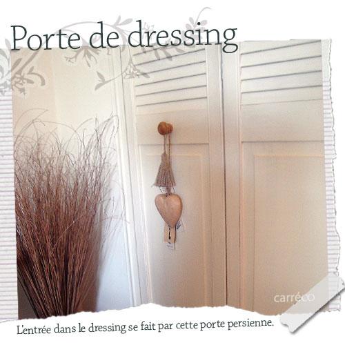 Porte de dressing