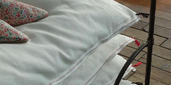Courtepointes en coton japonais de chez Caravane