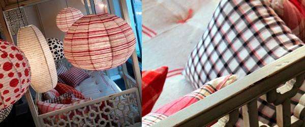 Plus nouveaux encore, les derniers arrivés sont le couvre-lit Iris et le miroir Sol, mais aussi, pour la première fois en édition chez Caravane, des tapis de laine Féroë et...