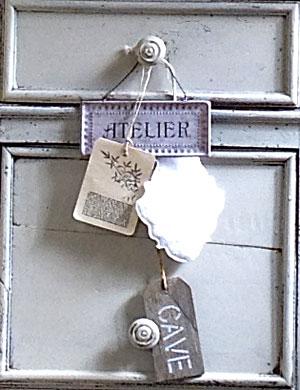 Etiquettes décoratives