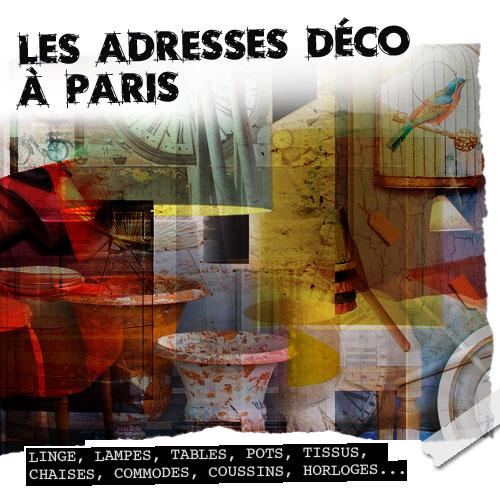 Boutiques déco à Paris