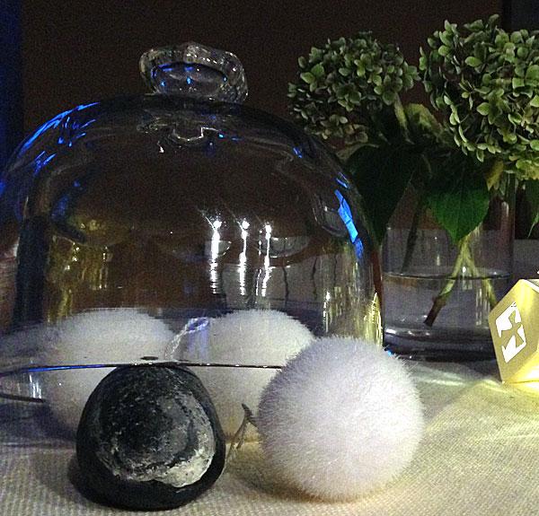 Boules de Noël blanches