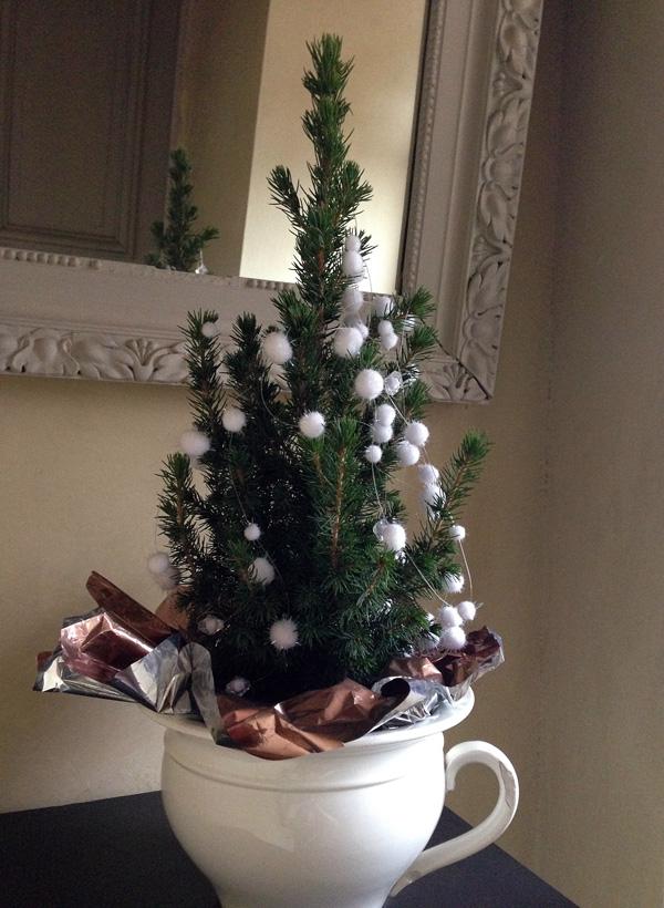 Un sapin de Noël miniature