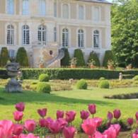 Pendant tout le mois d'Avril, le Château de Vendeuvre, situé à quelques kilomètres de Falaise, consacre son jardin à la tulipe ! Près de 30.000 bulbes de tulipes, jacinthes, jonquilles...