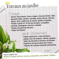 Du potager aux massifs, la végétation offre un joli spectacle. Le mois de mai a démarré avec la généreuse floraison dumuguetet va se poursuivre avec la floraison des vivaces. Le...