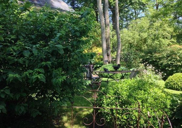 Le jardin Retiré, perle de l'Orne