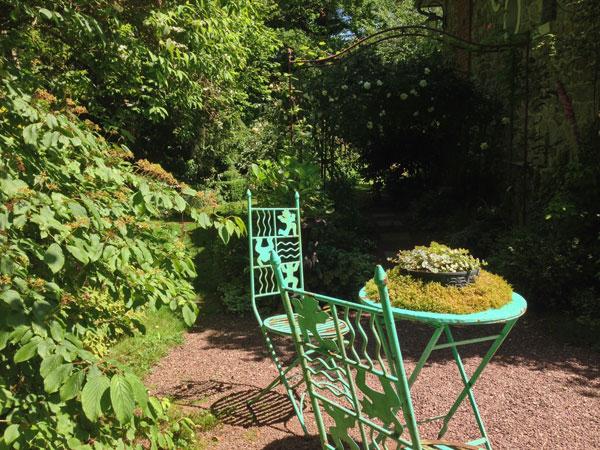 Le jardin Retiré