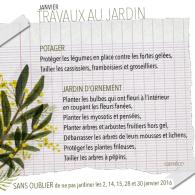 Janvier arrive avec sa liste de travaux au jardin… Profitez de la douceur actuelle pour bricoler au jardin, protéger les légumes en place contre les fortes gelées au potager, tailler […]