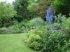 Les massifs de vivaces ne manquent pas dans le jardin du Petit-Bordeaux