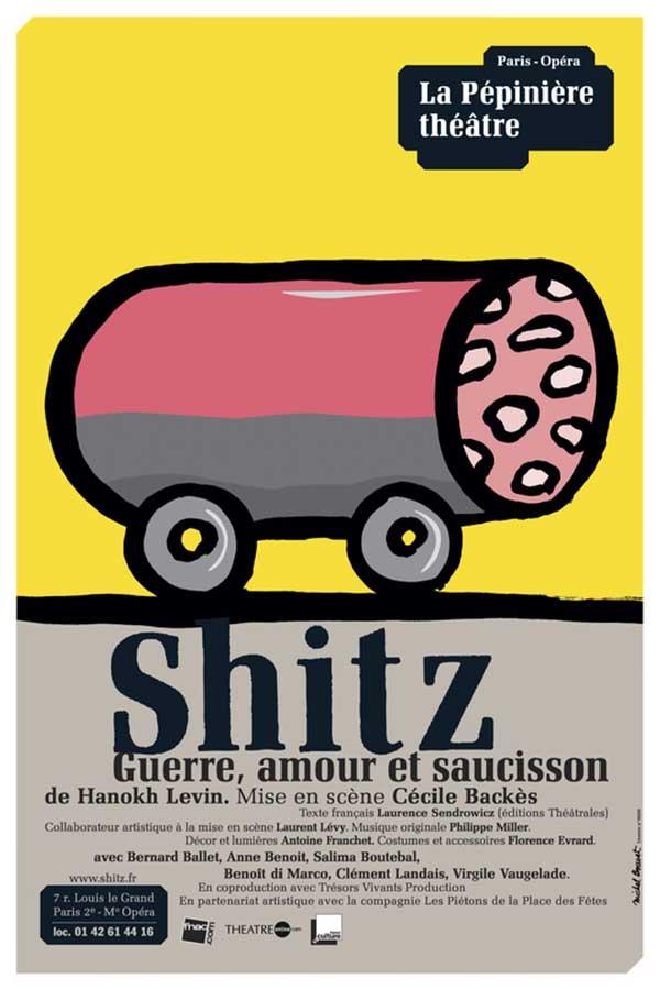 Affiche 2008, Shitz de Michel Bouvet