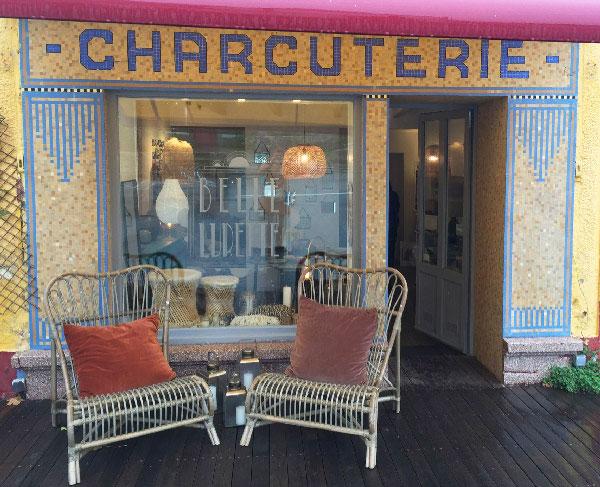 """Boutique de décoration """"Belle Lurette"""" sur l'île de Groix"""