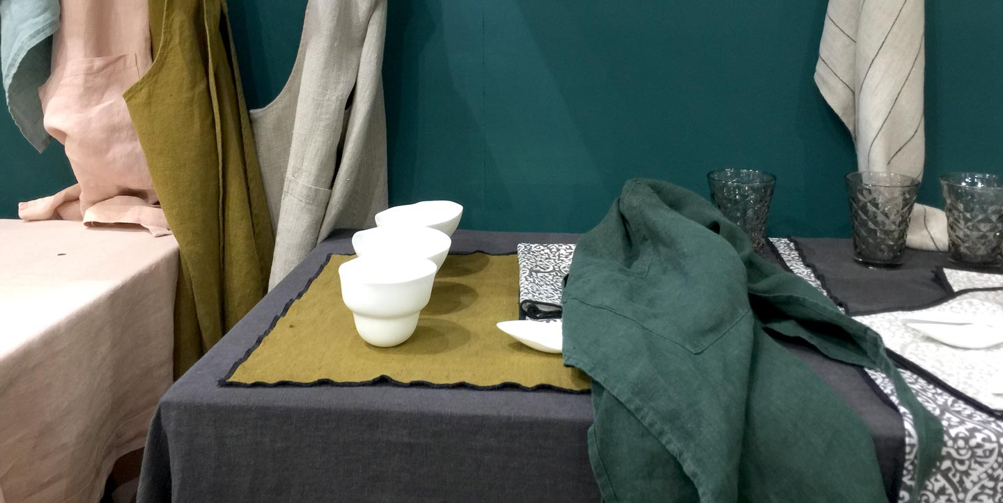 Collection art de la table de Home Linen