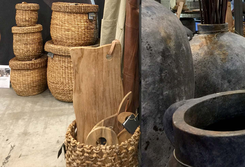 Paniers et vases de chez Muubbs